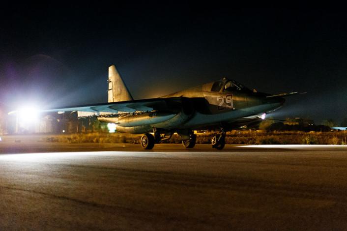 Su-25 night