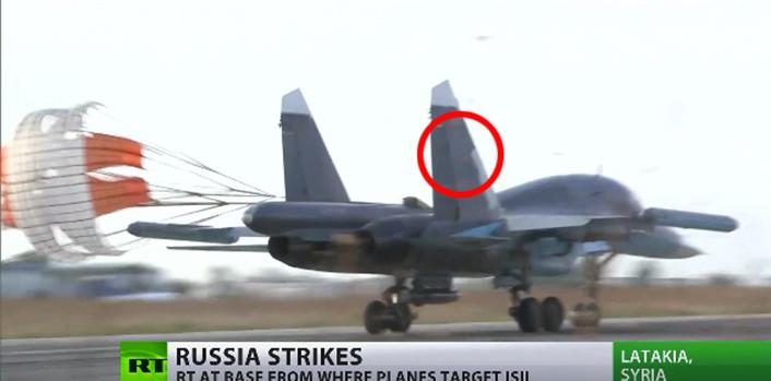 Su-34 tail