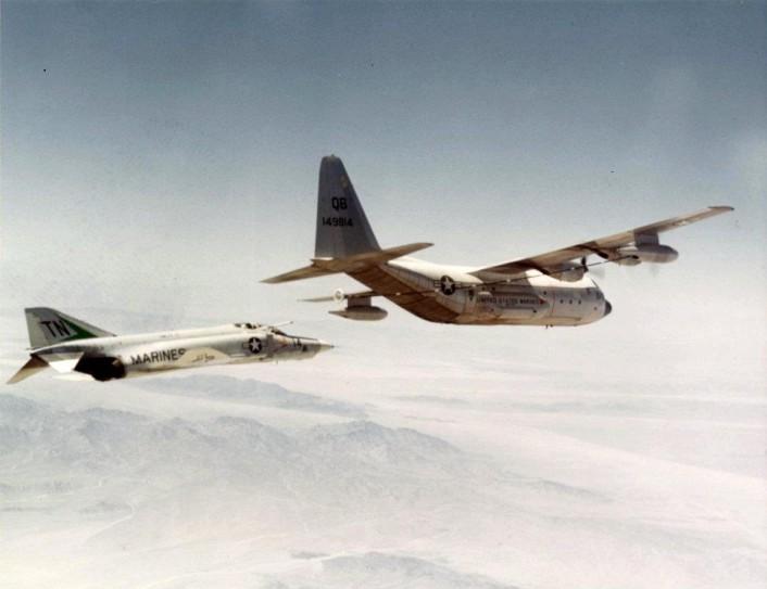 RF-4B C-130