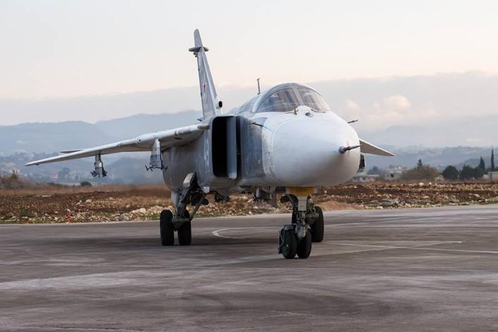 Su-24 unarmed