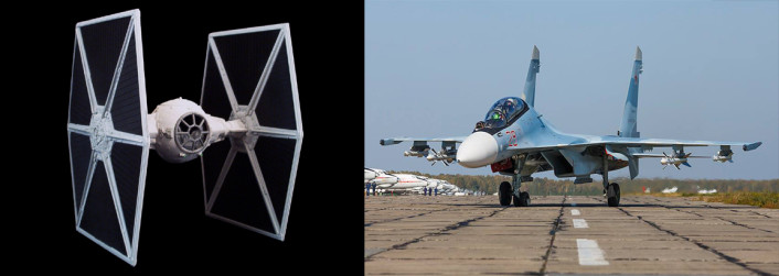 TIE Fighter + Su-30SM