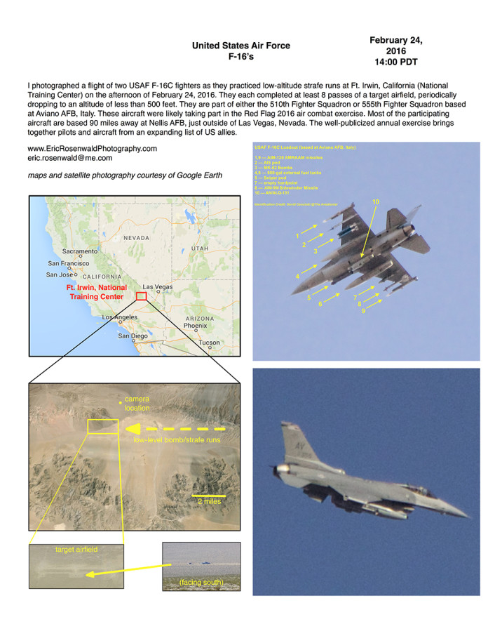Ft Irwin Red Flag 2016 F-16-down