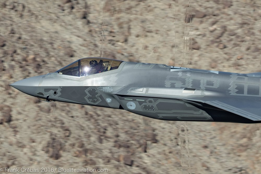 """Check Out This Photo of an F-35 Thundering Through The """"Star"""