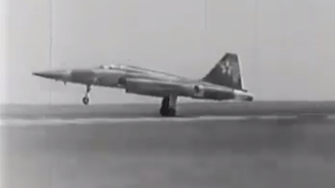 Russian Video Of Captured U S  F-5 Tiger Jet Dogfighting