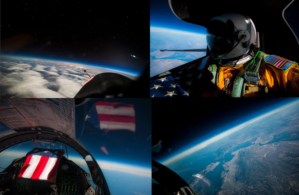 Check Out These Amazing Photos Taken By A U-2 Pilot At The