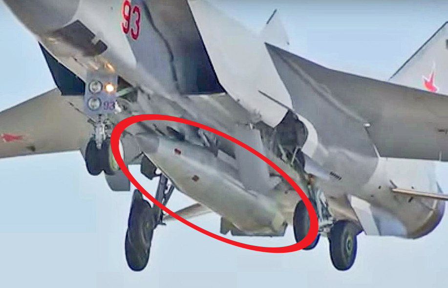 Russia Test Fires New Kh-47M2 Kinzhal Hypersonic Missile