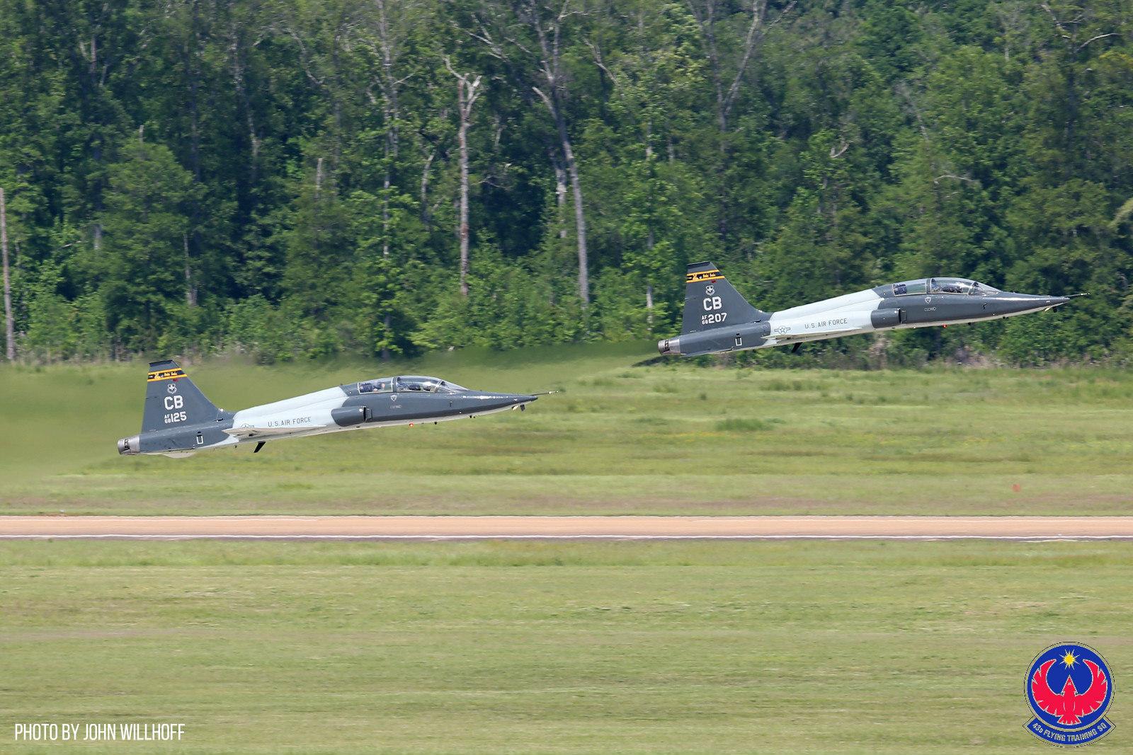 Advanced Pilot Training in The T-38 Talon At Columbus Air Force Base