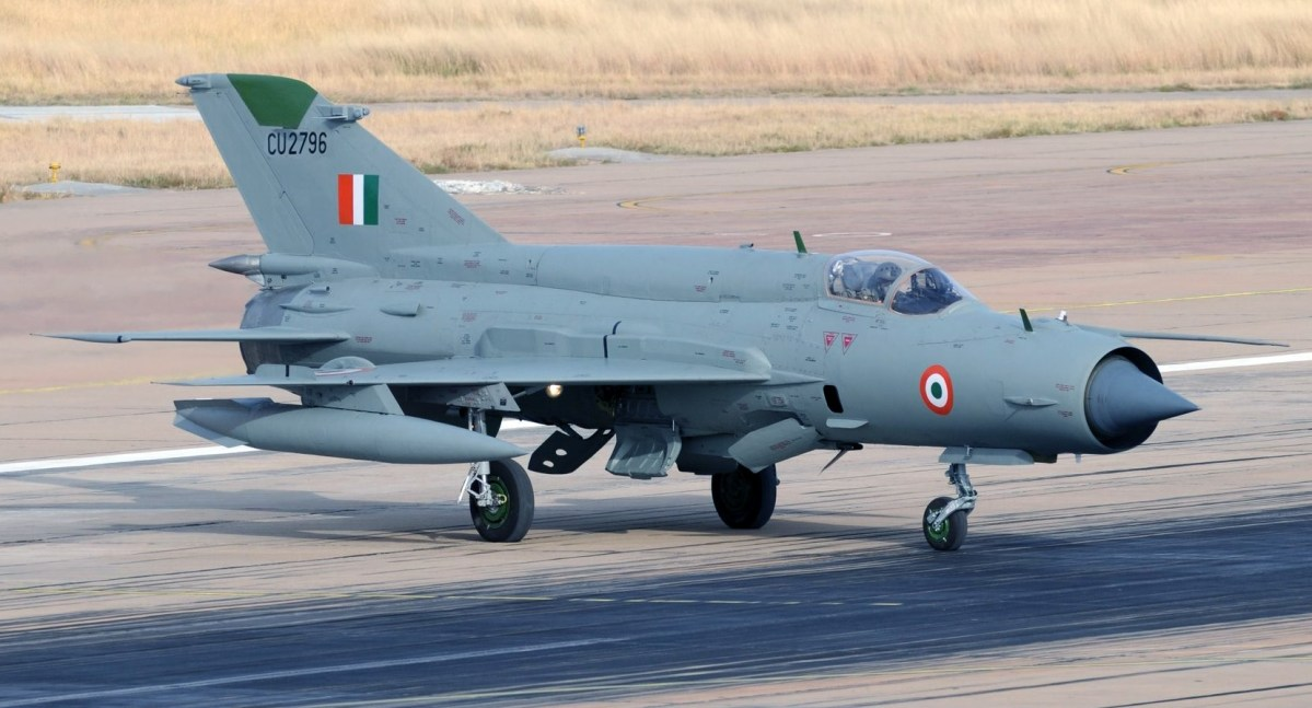 Indian Air Force MiG-21 Bison Shot Down By Pakistan Air