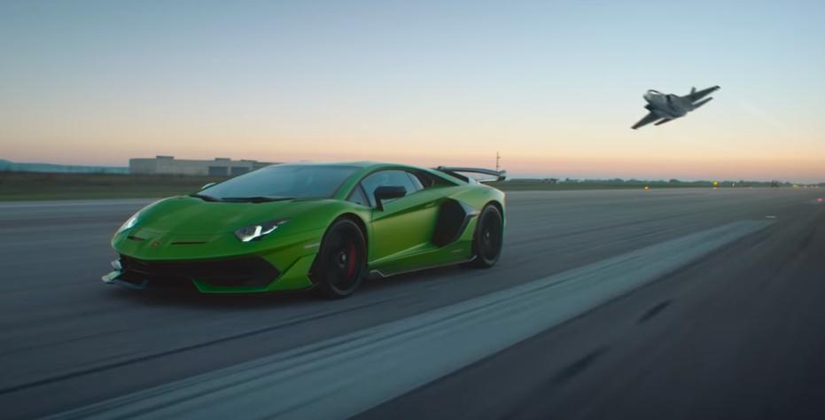 The New Lamborghini Aventador Svj S Design Was Inspired By The F 35