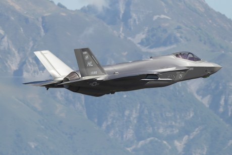 U.S. and Italian F-35As Integrated Operationally For The First Time Using MADL during Astral Knight 2019 Exercise