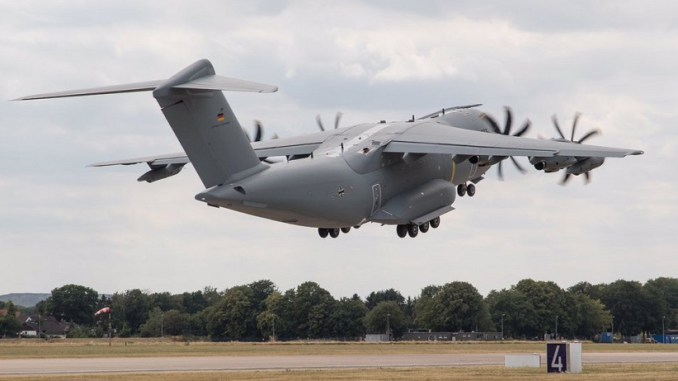 German A400M Atlas Deployed For The First Time As Tanker to Support