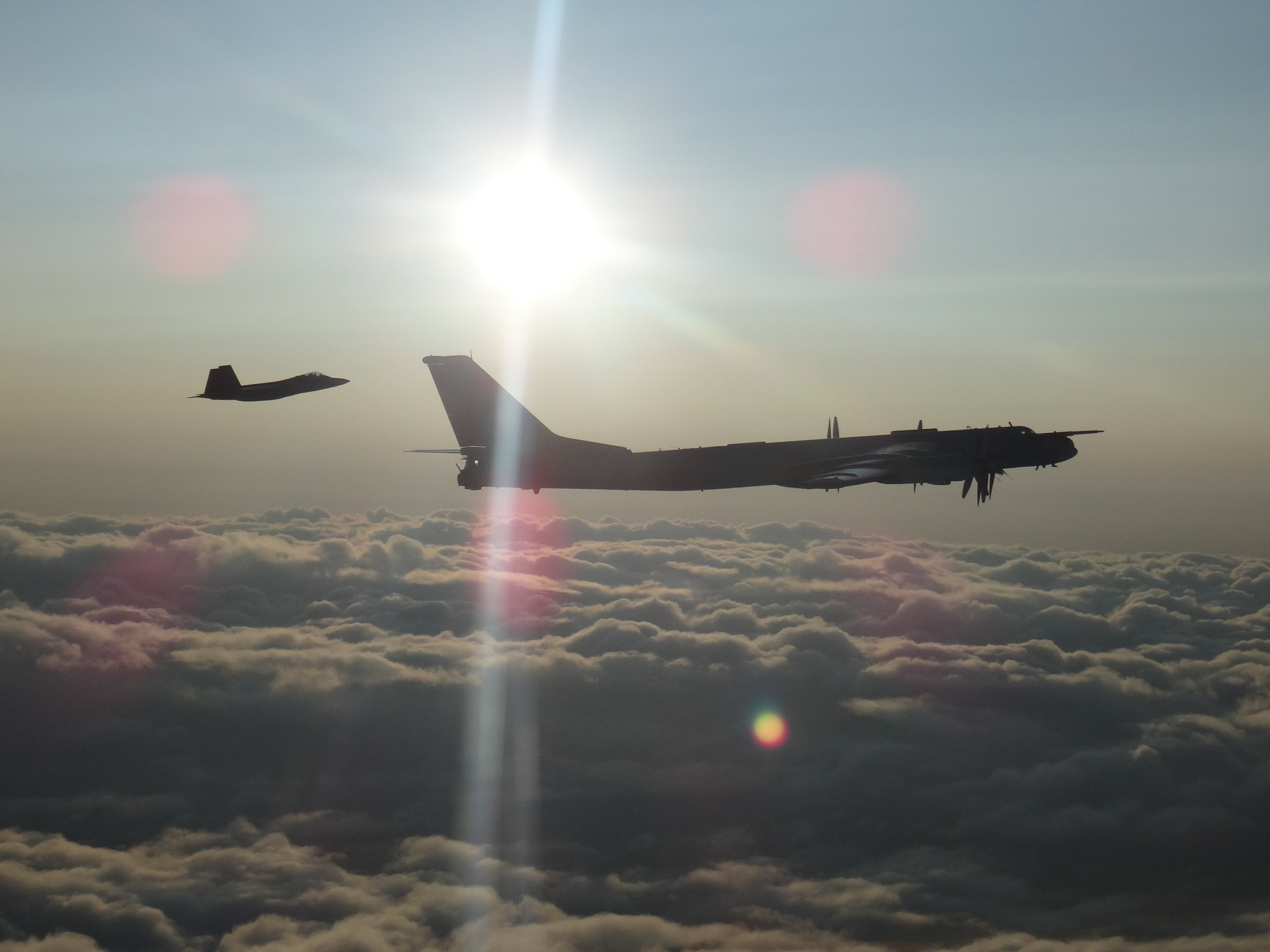 Russian jets intercepted off Alaskan coast by U.S. & Canadian forces