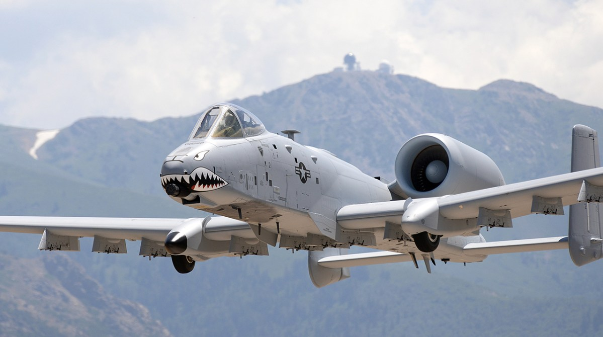 The A-10C Warthog Gets New Upgrades To Be Ready To Fight In Future High-end Conflicts