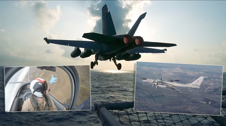 """Let's Have A Look At """"Strike Fighter Ball 2019"""", the latest East Coast naval F/A-18 Hornet squadrons video"""