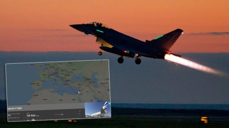 London Rocked By Sonic Boom Generated By RAF Typhoons Scrambled To Respond To Unresponsive Aircraft