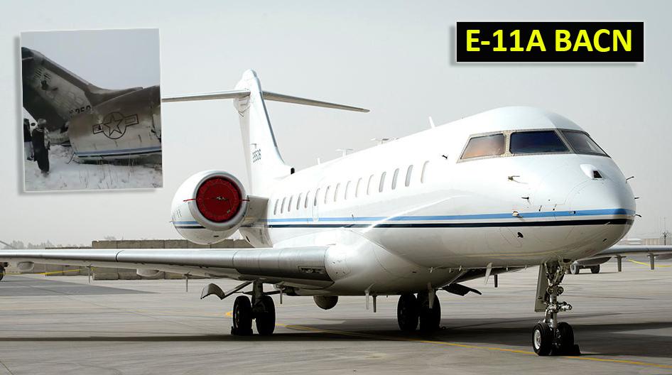 """Resultado de imagen para Bombardier E-11A """"BACN"""""""