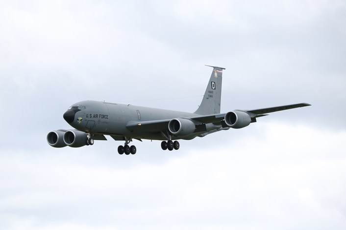 KC 135R Lajes - Hill Air Force Base's F-35As Return Home From Middle East Deployment (With Unique Nicknames)