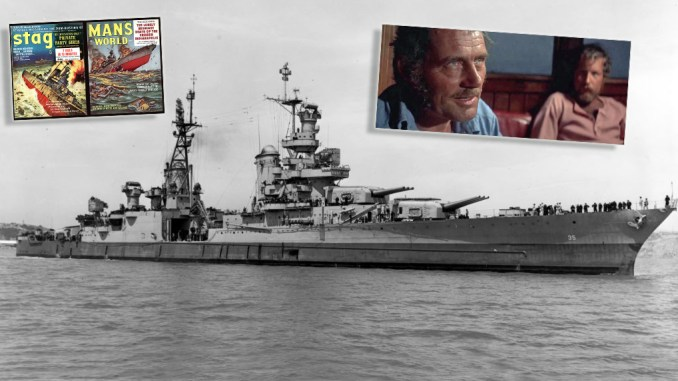 Indianapolis top - 75 Years Ago Today: The Sinking of the USS Indianapolis and its Horrific Aftermath.