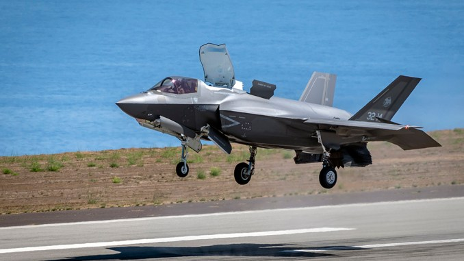 PANTELLERIA GIOVANNI COLLA top - Italian Air Force F-35B Makes Official Debut During Expeditionary Proof of Concept Exercise