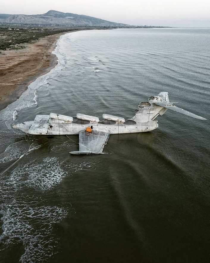 Ekranoplan 3 - Take A Look At These Incredible Shots Of The Russia's Sole Completed Lun-Class Ekranoplan