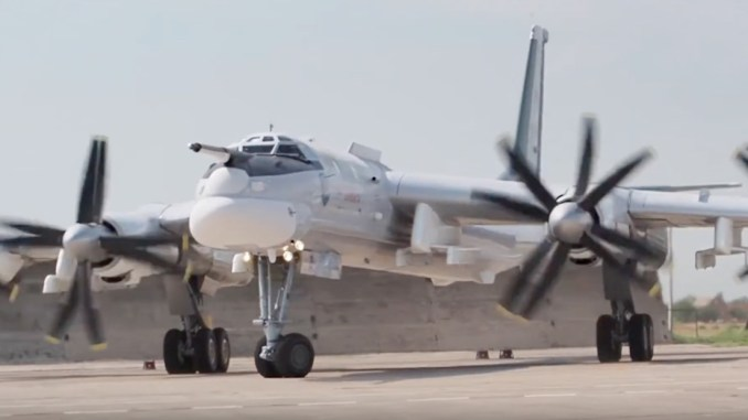 "Tu 95MSM first flight - Here's The First Footage of The Modernised Tu-95MSM ""Bear"" Bomber Performing Its Maiden Flight"