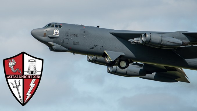 Astral Knight B 52 - Astral Knight 2020 Exercise Kicks Off In Eastern Europe