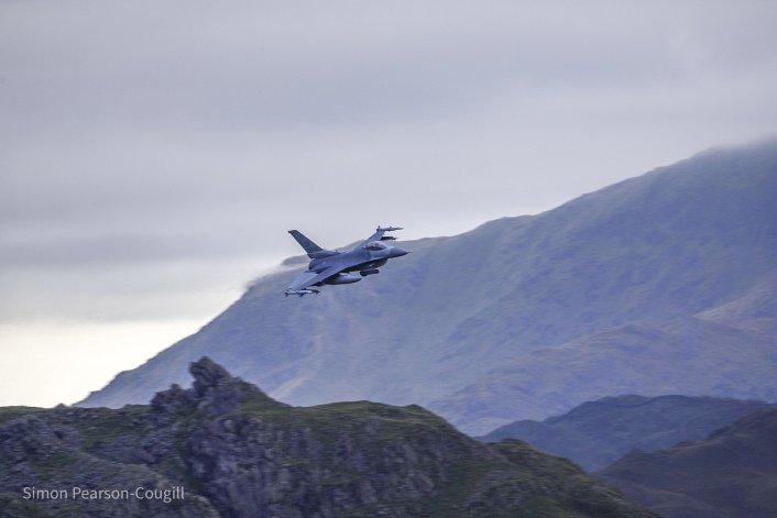 F 16 AV LFA17 5 - 31st FW F-16s Deployed To RAF Lakenheath Have Started Zipping Low Level Through The Lake District