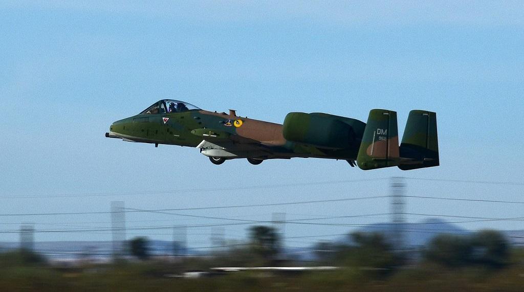 "The A-10C Demo Team Unveiled Their ""Warthog"" In Vietnam ..."