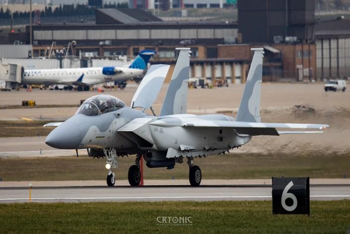 F-15QA ground ejection