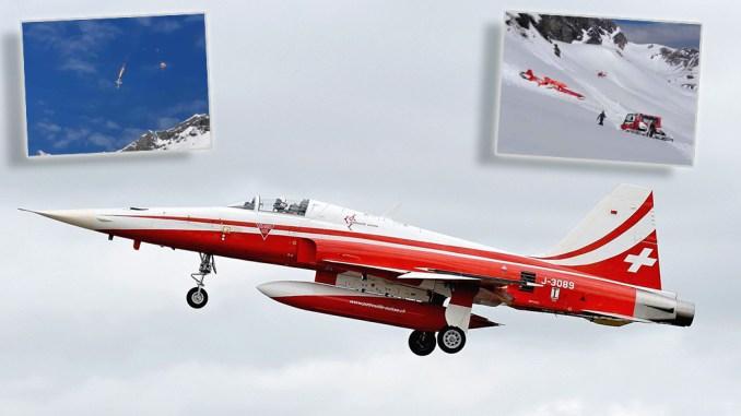 Swiss F-5 crash