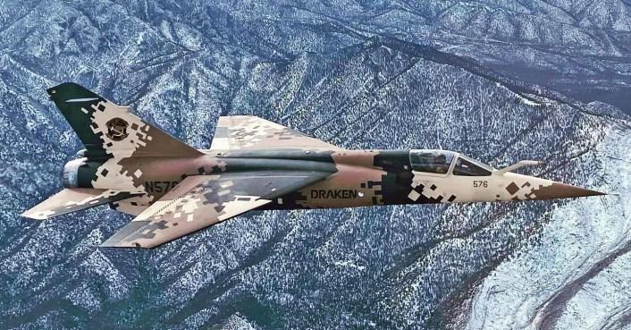 Draken Mirage F1 crash