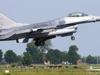 Belgian F-16 incident