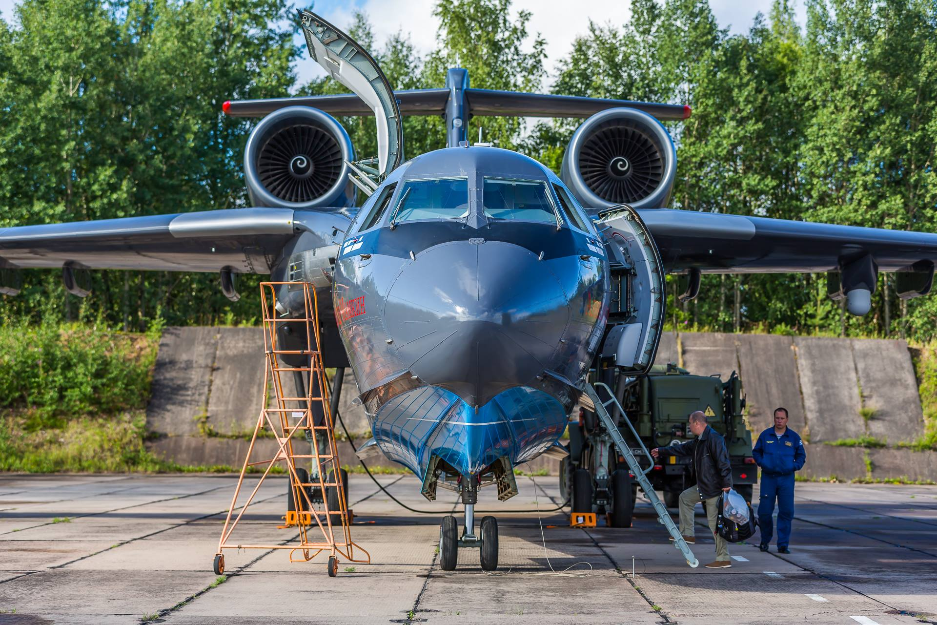 - Russian Beriev Be-200 Amphibious Firefighting Aircraft Has Crashed In Turkey