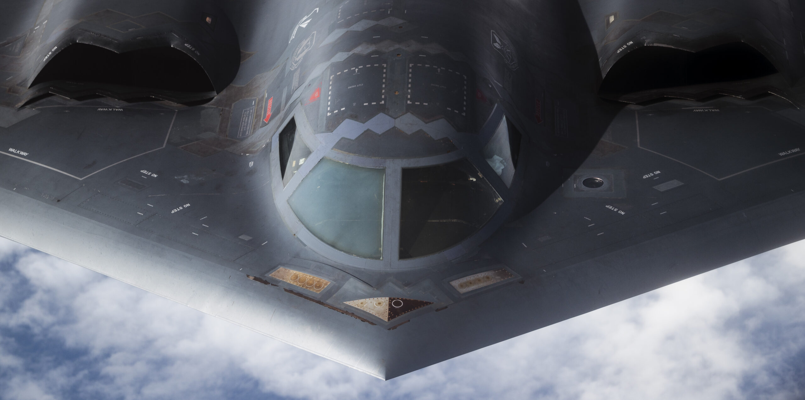 - Let's Have Another Look At The B-2's Air Data Ports And Astroinertial Navigation System