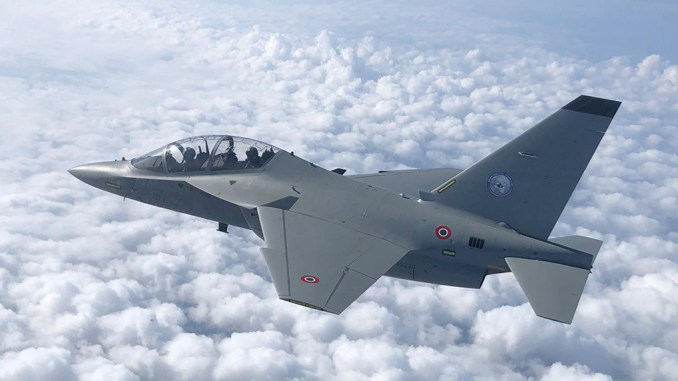 M 346 IFTS - International Flight Training School In Italy Welcomes First Two German Air Force Pilots