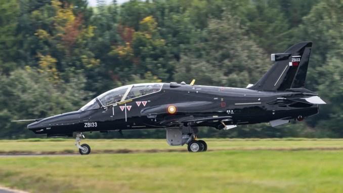 QEAF Hawks 2 - First Two Hawk Mk167 Jets For the Qatar Emiri Air Force Delivered To RAF Leeming