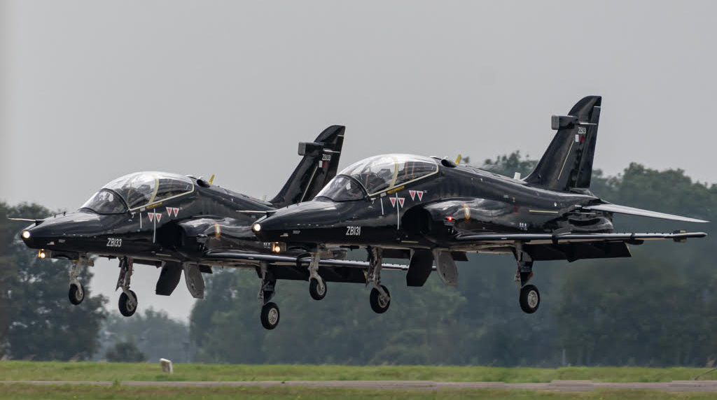 - First Two Hawk Mk167 Jets For the Qatar Emiri Air Force Delivered To RAF Leeming