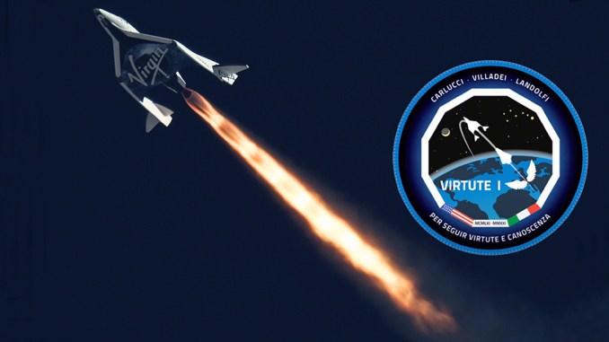 Virtute 1 Virgin Galactic