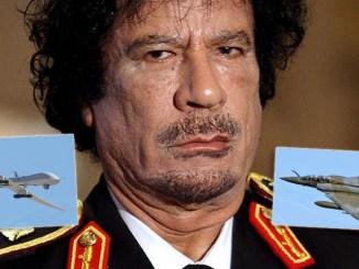 Gaddafi raid