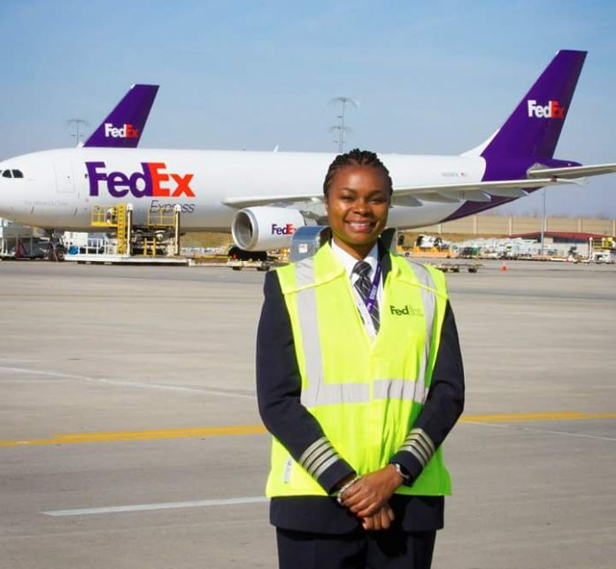 Meet the first African American woman pilot to work with FedEx  Theaviatorsafrica