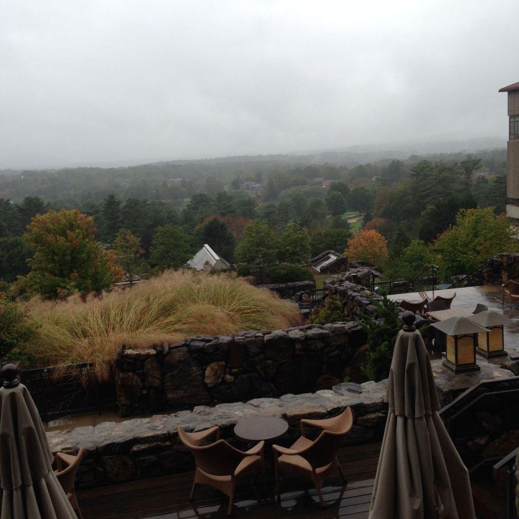 Rainy Asheville...