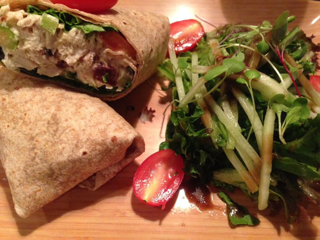 My Chicken Salad Sandwich...