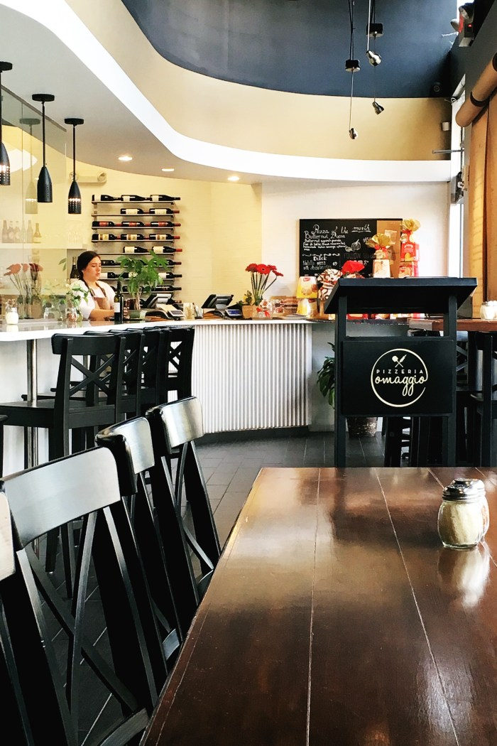 Inside Omaggio Pizzeria with Daniel Siragusa