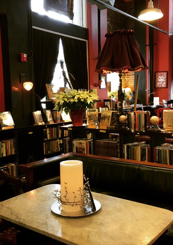 Tea at Battery Park Book Exchange and Champagne Bar