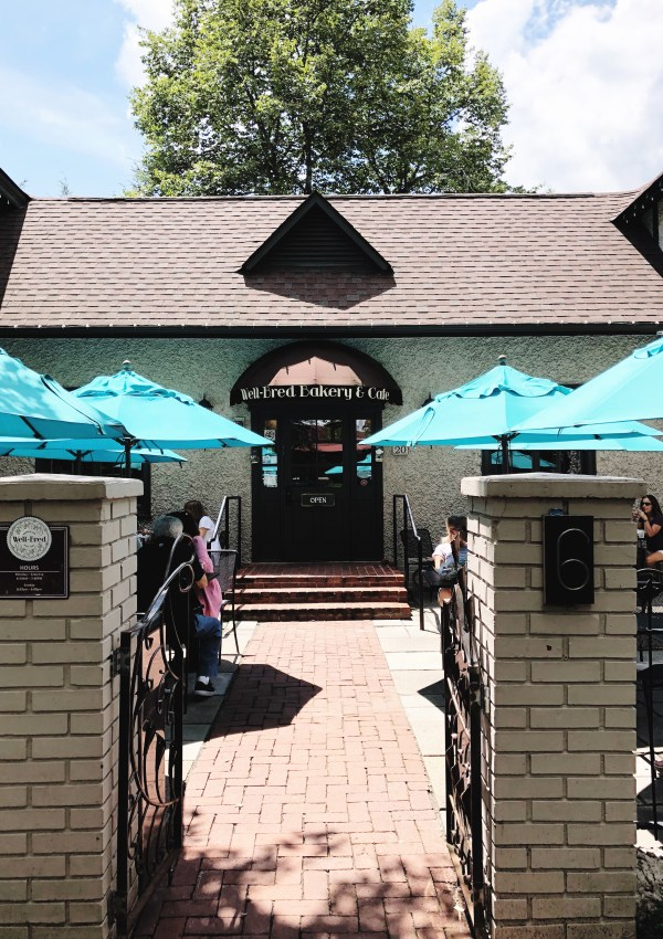 Lunch at Well-Bred   Biltmore Village
