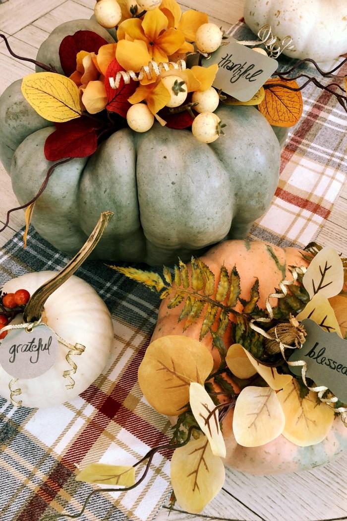 Floral Pumpkins | DIY