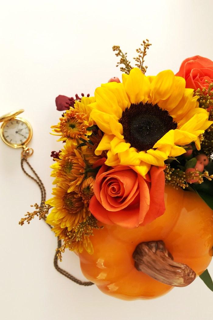Pumpkin Spice Floral DIY