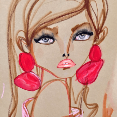 From Carolina Herrera to Prada with Fashion Illustrator Blair Breitenstein