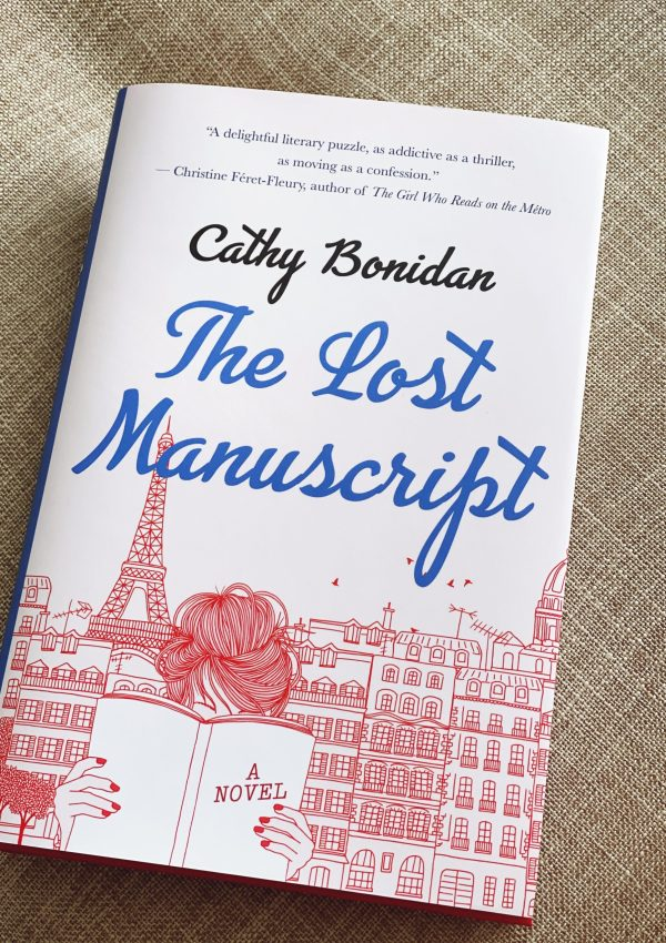 The Lost Manuscript with Author Cathy Bonidan