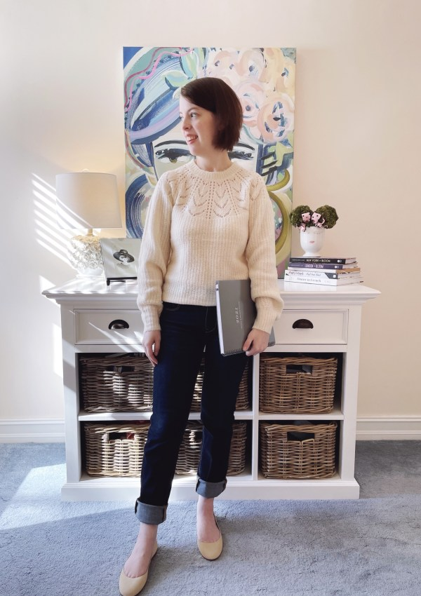 Cozy Meets Chic | A WFH Look for Your Next Zoom